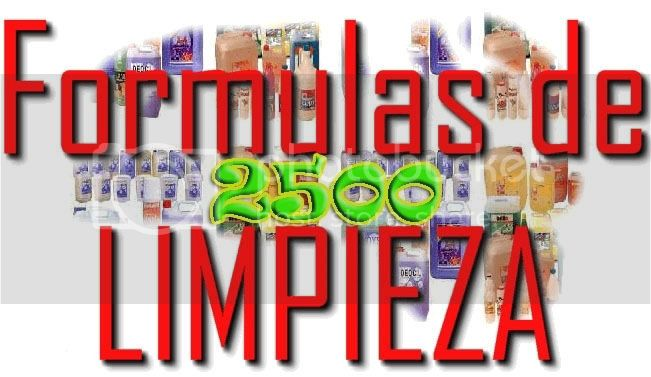 2500 FORMULAS INDUSTRIALES